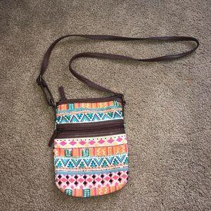 Cute tribal cross body bag